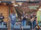 Benefiční koncert v kempu Ranč Bystřička