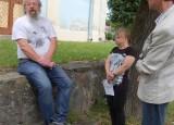 Natáčení reportáže v Mirošově
