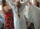 Příprava natáčení tanečního klipu - Voda