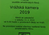 Vrážská kamera 2019