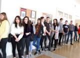 Výstava fotograií na Obchodní akademii Vinohradská