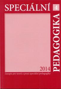 Časopis speciální pedagogika 2014